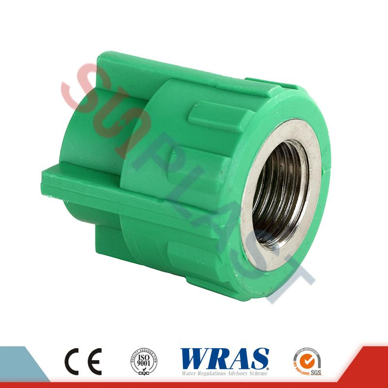 DIN8077 PPR női adapter